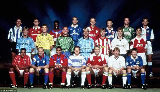 1992 Premier League team photo