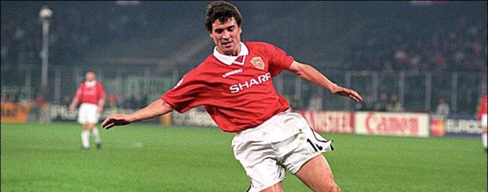 Roy Keane - Manchester United v Juventus