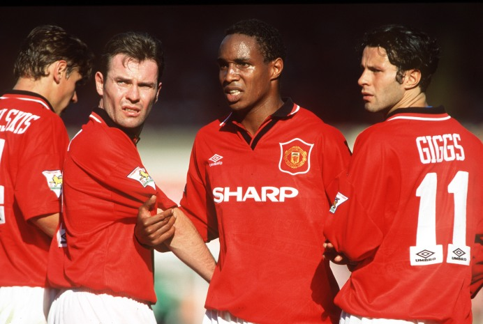 McLair, Ince, Giggs in Manchester United squad