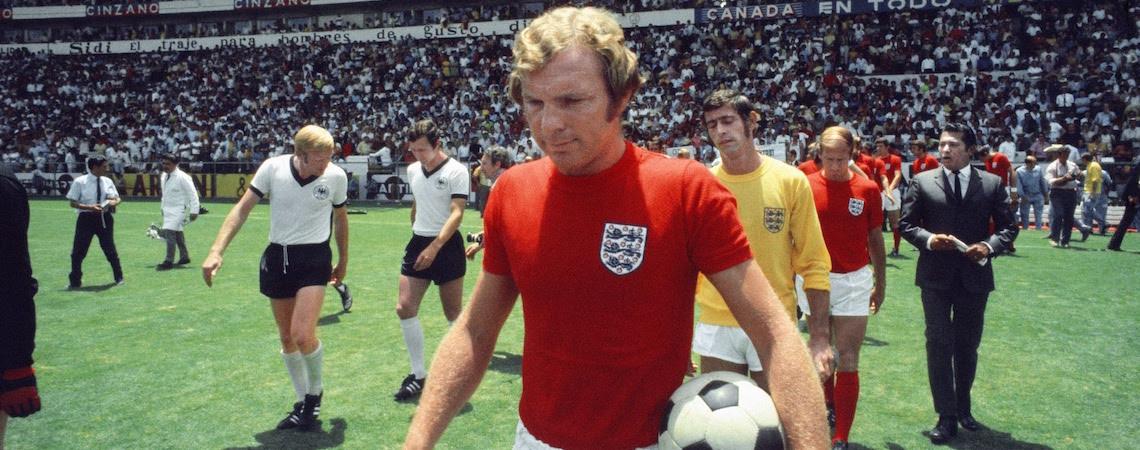Bobby Moore England captain