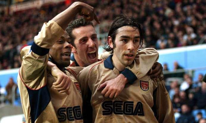 Pires Arsenal Aston Villa