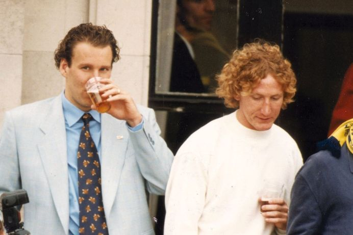 Ray Parlour Paul Merson pints