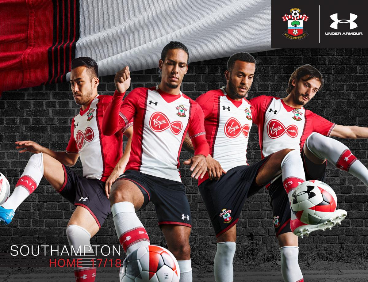 2017 Southampton home shirt