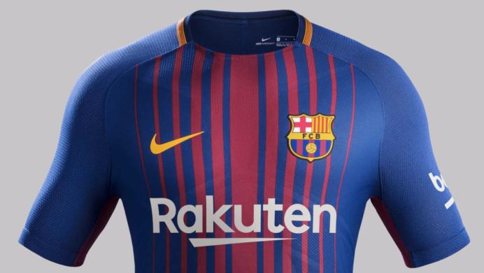 2017 18 Barcelona shirt by Nike