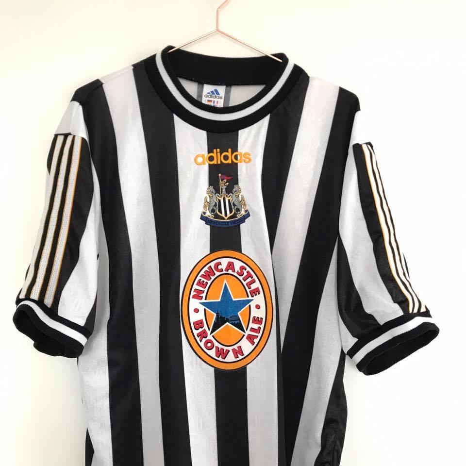 1997 99 Newcastle United home shirt