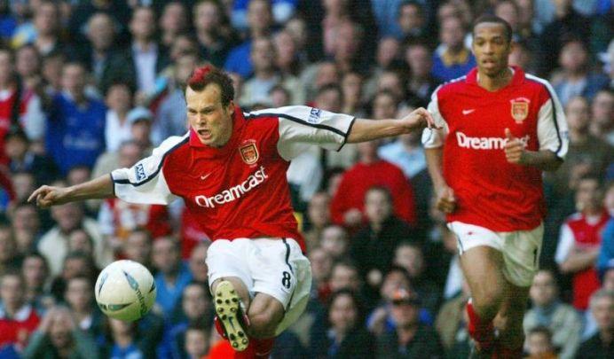 Freddie Ljungberg Arsenal v Chelsea