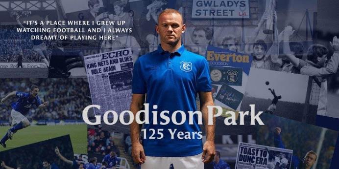 Everton 125 years kit