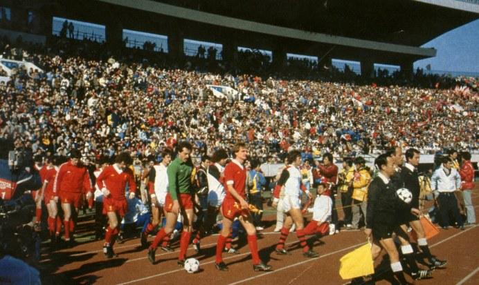 Flamengo Liverpool 1981