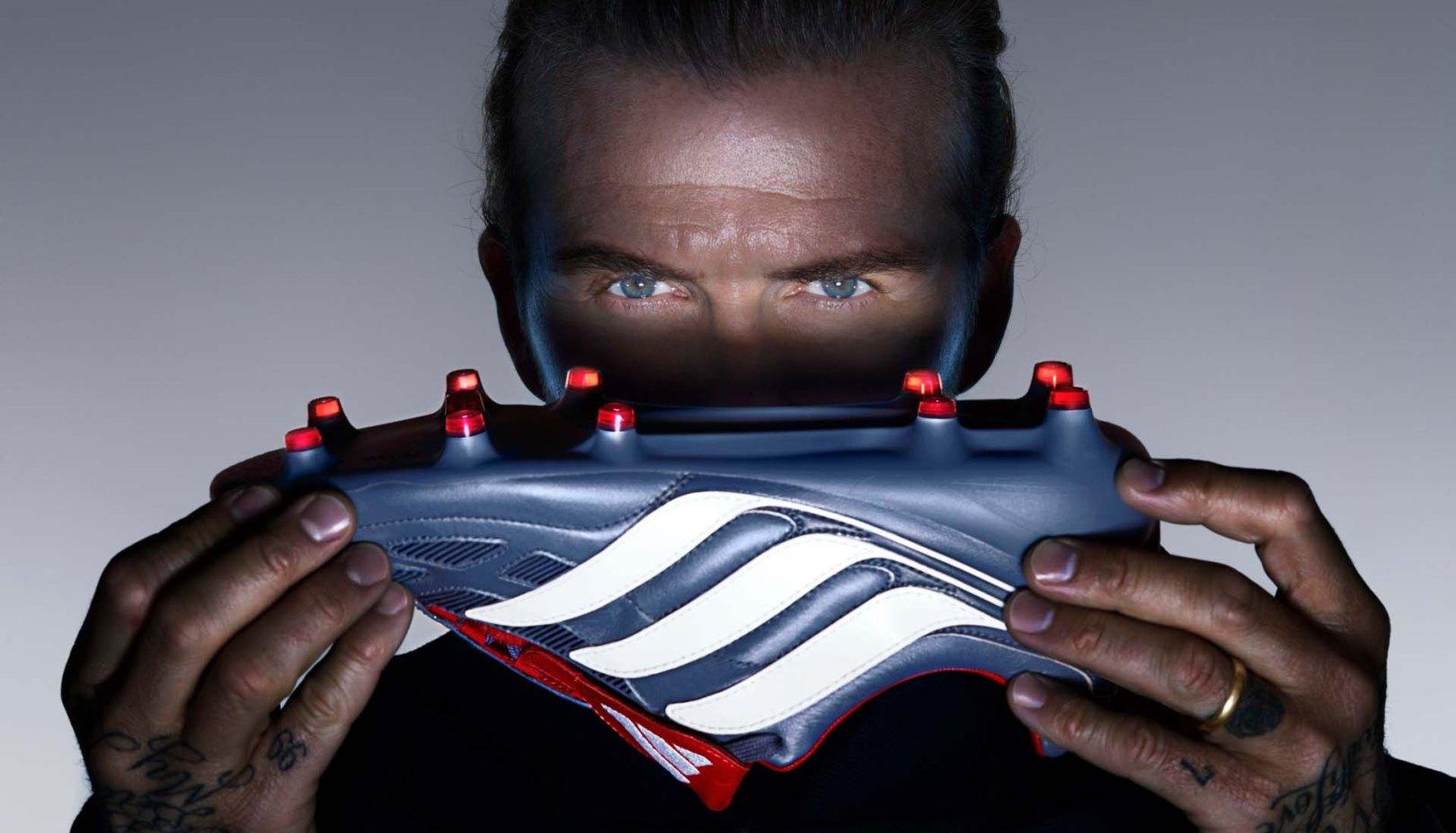 David Beckham adidas predator precision
