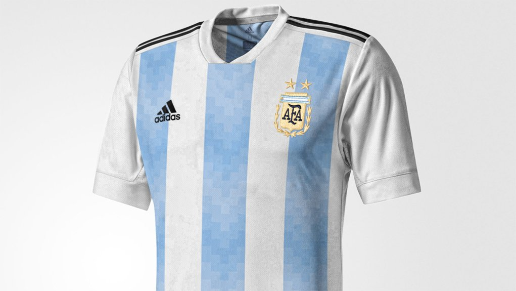 2018 World Cup Argentina adidas football shirt