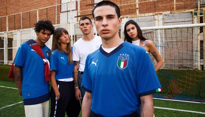 Italy Puma 2018 World Cup shirt