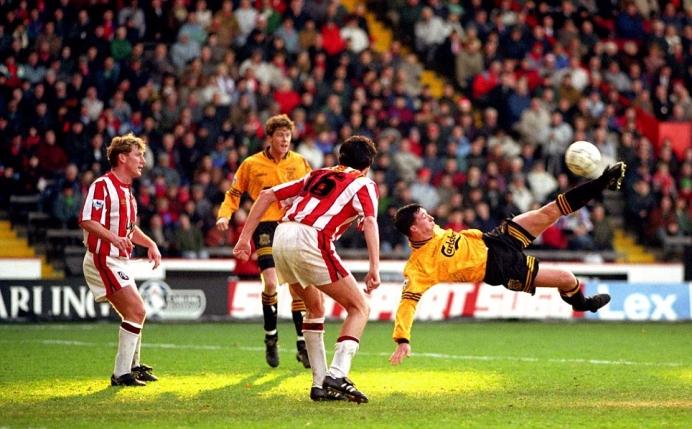Robbie Fowler scissor kick 1994 Liverpool