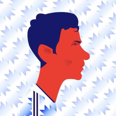 Ryan Giggs Manchester United illustration