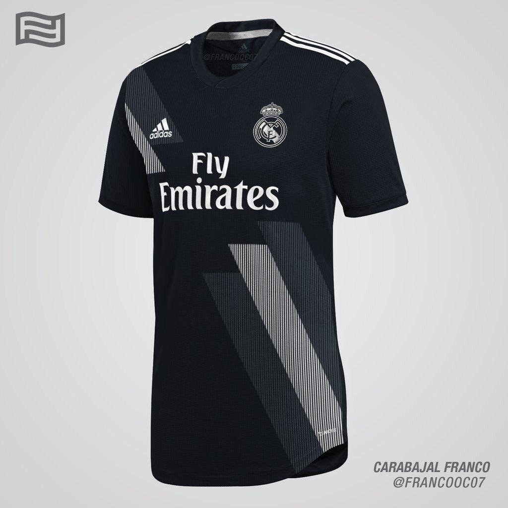 2018 19 Real Madrid away shirt