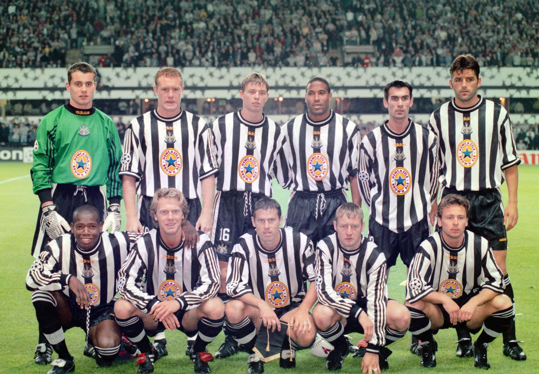 Newcastle United v Barcelona 1997
