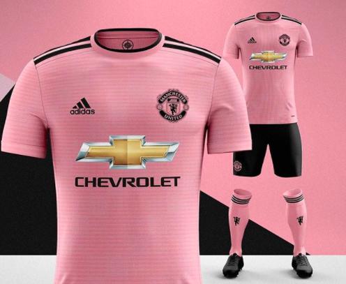 2018-19 Manchester United concept away shirt